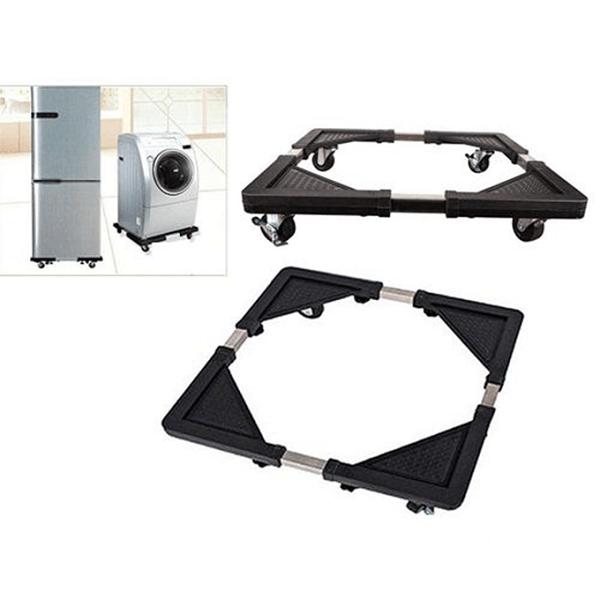 Socle A Roulette Adaptable Pour Réfrigérateur Et Machine A Laver