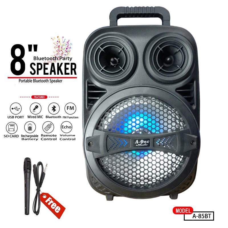 Speaker portable rechargable avec Microphone MN09 bluetooth