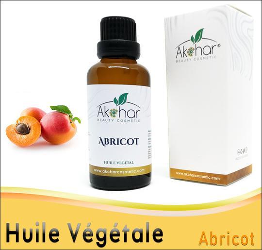 Huile Végétale d'Abricot - الزيت النباتي المشمش زيت المشمش