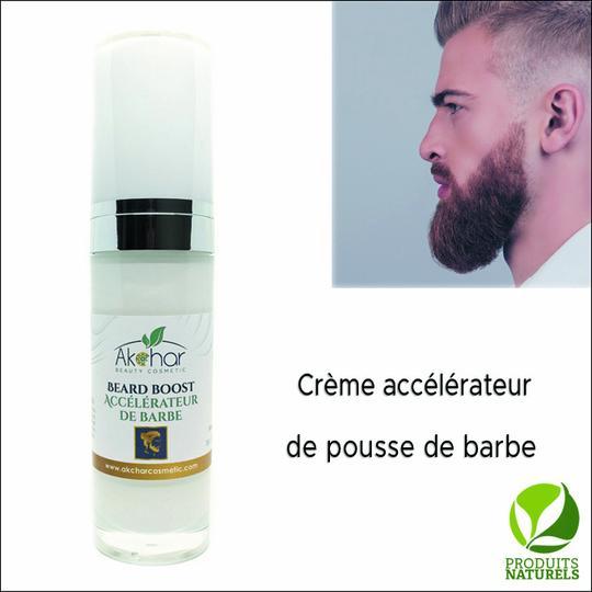 Crème Naturelle accélérateur de pousse de barbe et moustache - كريم طبيعي لتسريع نمو اللحية والشارب